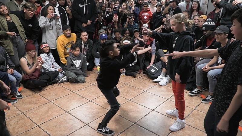 Bboy A B Madmatt vs Phoenix Lil'Mini Playboy Jun D trix Lollicup Jam 2017