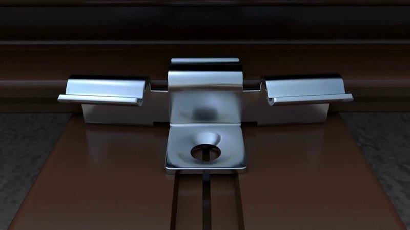 Кляймер HILST FIX 3D Для всех террасных досок
