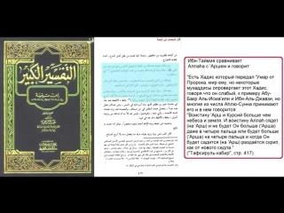 Заблуждение ибн таймия. Чему учил ибн таймия