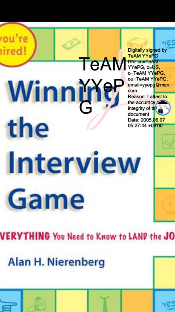 Winning The Interview Game