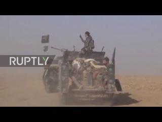 Ирак: Иракские силы безопасности продвигается в западной части Мосула.