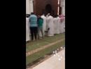 صلاة التراويح هذا العام في العلامة التجارية الجديدة المسجد بجوار جبل أحد في المدينة. أحد الأئمة هو أحد أبناء الشيخ محمد أيوب (ره