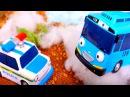 Тайо маленький автобус. Мультики про машинки. Видео для детей на английском языке