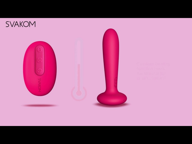 Primo A Prostate Massager for Male and G Spot Vibrator for Female by SVAKOM