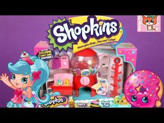 Шопкинс Супермаркет ИГРАЕМ В МАГАЗИН Shopkins Mall Видео для Детей игрушки Шопкинсы