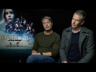 Rogue One: A Star Wars Story - Intervista doppia esclusiva a Mads Mikkelsen e Ben Mendelsohn