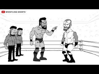 #My1 Randy Orton vs Jinder Mahal Backlash Cartoon Parody