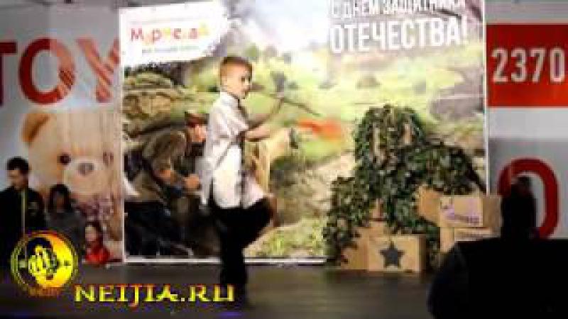 Детская группа клуба Юньшоу в ТРЦ Мармелад 25 02 17
