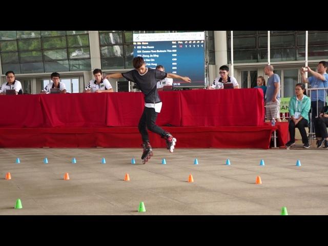 World Roller Games 2017 WFSC Qualification classic Zheng Jia Ming