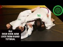 BJJ Over-Hook Arm Lock from Closed Guard Tutorial
