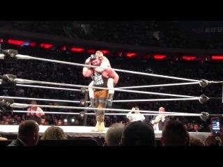 WWE MSG Brock Lesnar vs Braun Strowman vs Kane 3-16-18 FULL MATCH