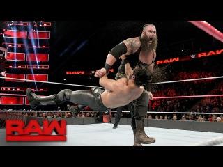 [WBSOFG[ Seth Rollins vs. Braun Strowman: Raw, Oct. 2, 2017