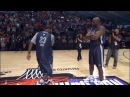 Best Dance Off Shaq and LeBron vs Detroit Pistons Fan and Usher