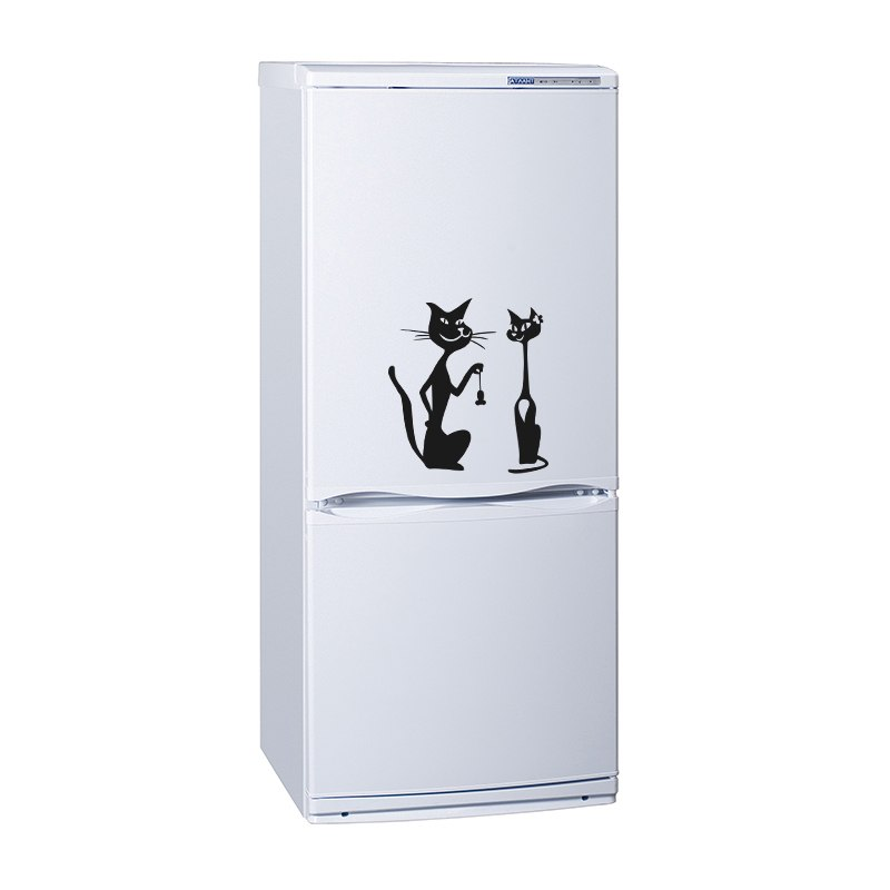 Картинки на холодильник с котом