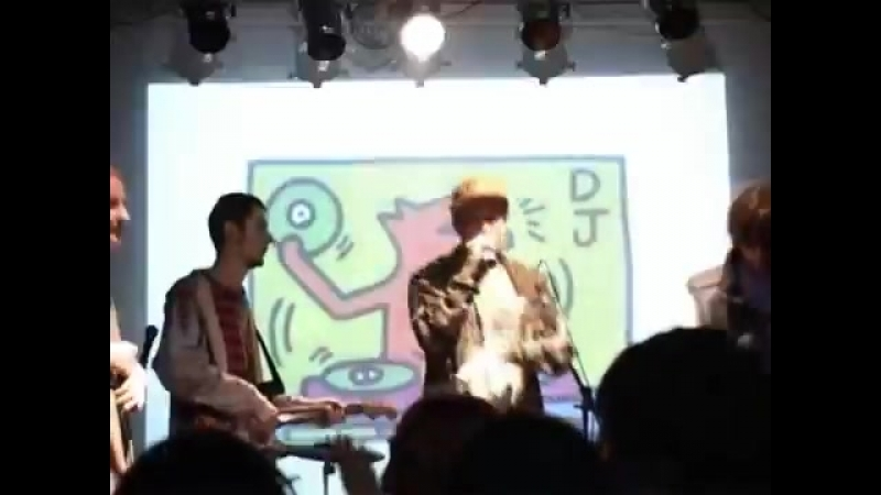 2007 04 28 YG x Куст x IQ x JahGun Band live Презентация cd DC MC Ikra Club Москва