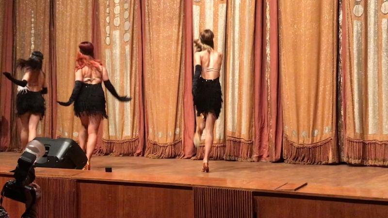 Шоу-балет «Экзон» с номером «Чикаго»