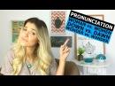 6 Mispronounced Words Pronunciation Eng
