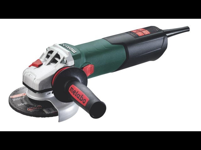 РоботунОбзор: Болгарка Metabo WEV 15-125 Quick