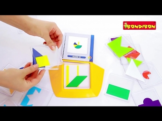 Логическая игра bondibon smart games цветовой код