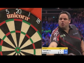 Phil Taylor vs Adrian Lewis (Champions League of Darts 2017 - Group A)