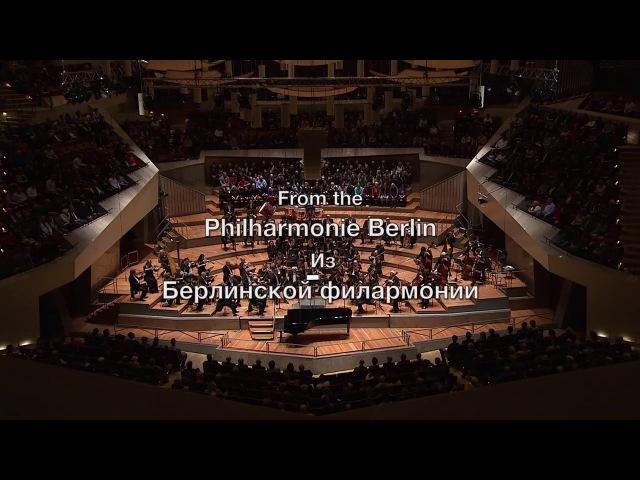 Smetana Rachmaninov Dvořák Andrei Gavrilov Piano Philharmonie Berlin Großer Saal 31.01.16
