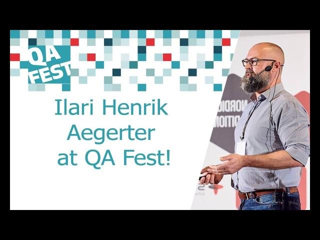 Ilari Henrik Aegerter at QA Fest
