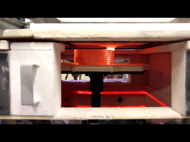 3-D печать из расплавленного стекла (система G3DP)