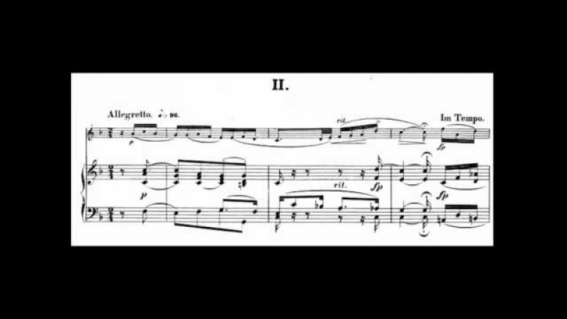 Robert Schumann - Violin Sonata No. 1, Op. 105 (1851)