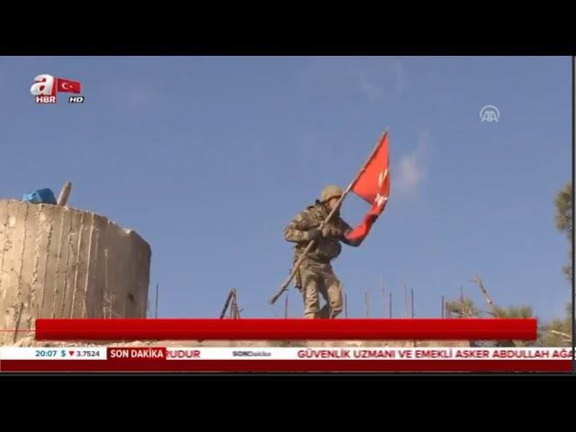 Afrin Zeytin Dalı Burseya Dağı Teröristlerden alındı özet görüntüler