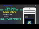 FREE EARN BITCOIN AND DOGECOIN BEST MINING SITE IN THE WORLD 200 GH S 1 MH S MININGGURUS