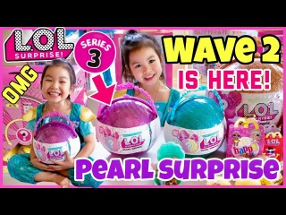 LOL SURPRISE PURPLE PEARL SURPRISE WAVE 2! FULL UNBOXING of Precious and Lil Precious!