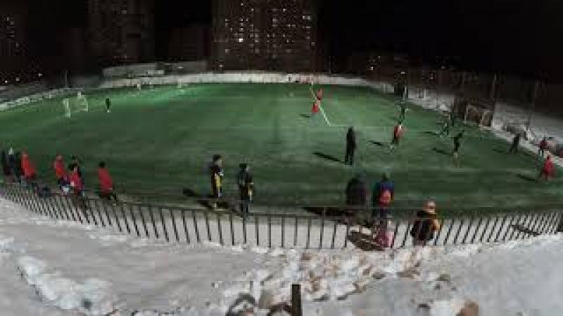 ФК Оверята Arsenal Suksun Зимний Чемпионат НФЛ 11 февраля