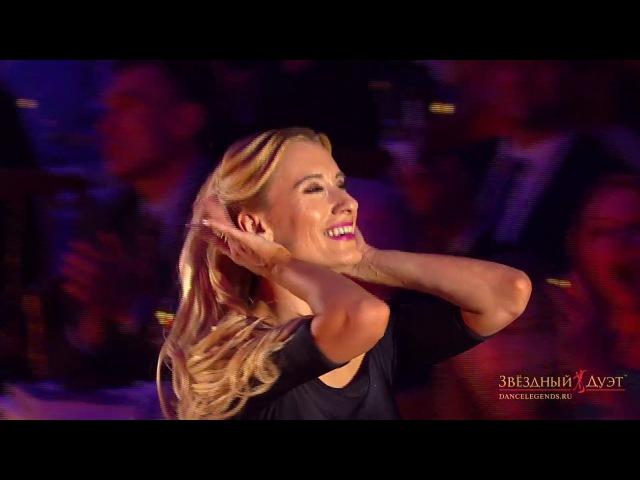 Arunas Bizokas - Katusha Demidova (USA) Quickstep .Танцевальное шоу Звездный Дуэт 2017