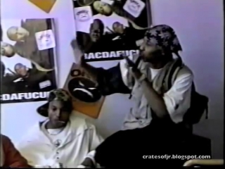 Onyx 1993 interview with max from moonlight activities speak about the ghetto in 93 during bacdafucup promo run