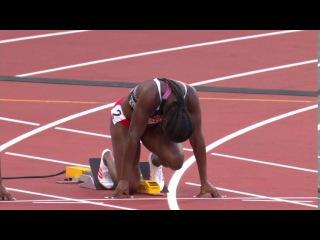 Women's 100m SEMIFINAL 1 World Championships London 2017