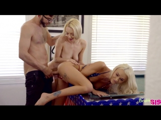 Emma Hix And Molly Mae - Fucking For Fourth Of July [All Sex, Hardcore, Blowjob, Incest]