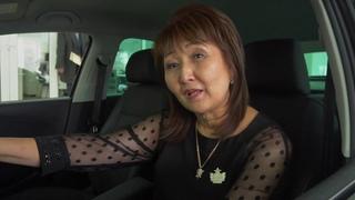 G-TIME CORPORATION Вручение нового автомобиля партнеру из Алматы