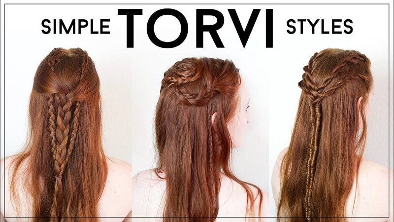 Simple and Wearable, Everyday Torvi Braids from Vikings