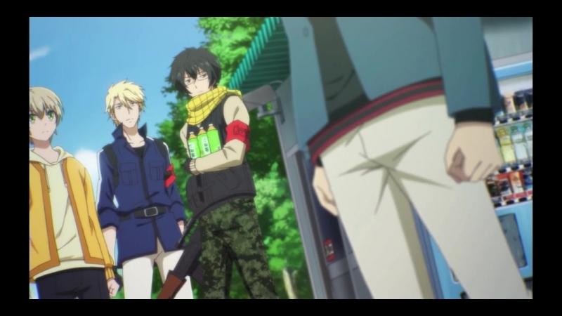 Синяя весна и механическая пушка Aoharu x Kikanjuu 1 12 серии