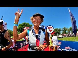 Мадонна Бадер - 82 года 340 триатлонов (БЕГ RUN )