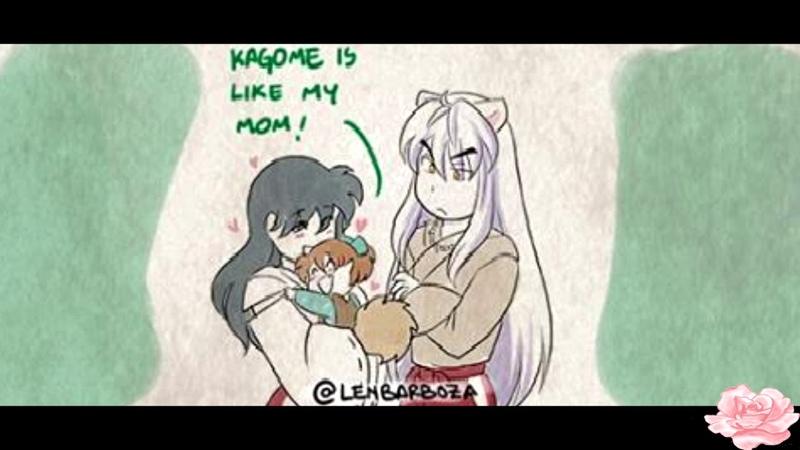 InuYasha Comic Dub Shippo's New Mom Dad