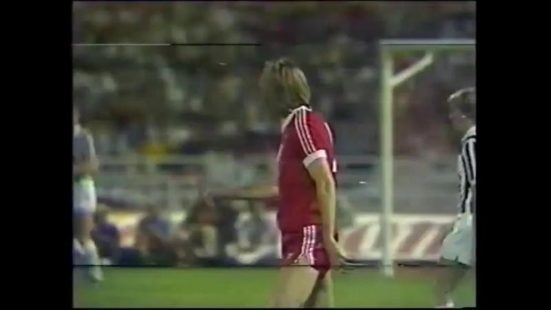 Кубок Европейских Чемпионов 1982 83 Гамбург Германия Ювентус Италия