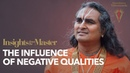 The Influence of Negative Asuric Qualities Insights from the Master