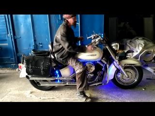 .................Заказной  Мотоцикл  Ямаха  Драг  Стар  1100