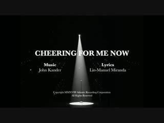 Cheering For Me Now by John Kander and Lin-Manuel Miranda | Hamilton | #HamilDrop // rus subs | русские субтитры