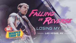 "Falling In Reverse - ""Losing My Mind"" LIVE! Vans Warped Tour 2018"