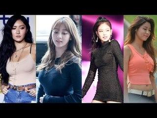 Kpop Female Bodies: Fake vs Real Boobs