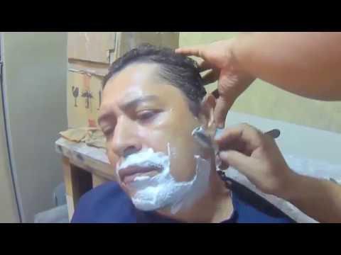 Técnicas de Barba Com Navalha Profissional - Aula ONinjadoCabelo