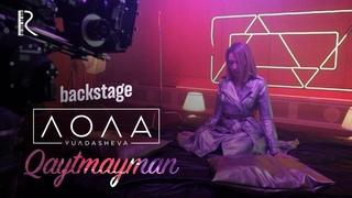Lola Yuldasheva - Qaytmayman (klip jarayoni) | Лола Юлдашева - Кайтмайман (клип жараёни)