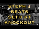 IG mix Steph Curry on fire beats Seth and Kyle Kuzma at youth basketball camp at Sports Academy